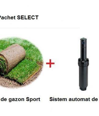 Rulouri de gazon Sport + Sistem automat de irigatie